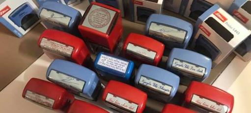 khắc dấu Gia Lai - Dịch vụ làm con dấu giá rẻ lấy ngay tại Gia Lai